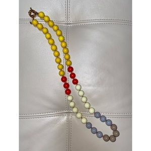J. Crew large bead necklace